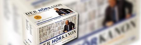 DER HÖRKANON: Die deutsche Literatur - Erzählungen - Eine Auswahl auf 40 CDs